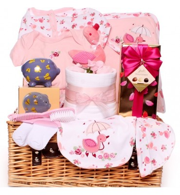 Miss Puddle Duck Baby Hamper.