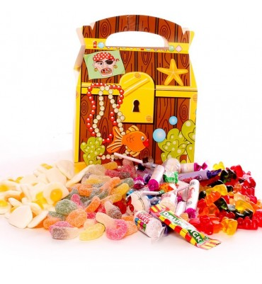 Treasure Box - Filled With Pick and Mix Sweets