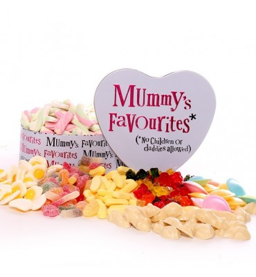Mummy's Treat Tin Filled With Pick and Mix.