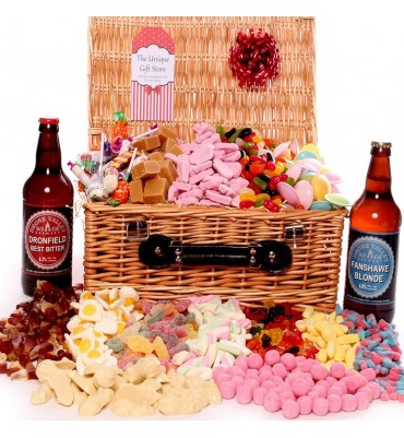 Beer and Sweets Hamper - Large