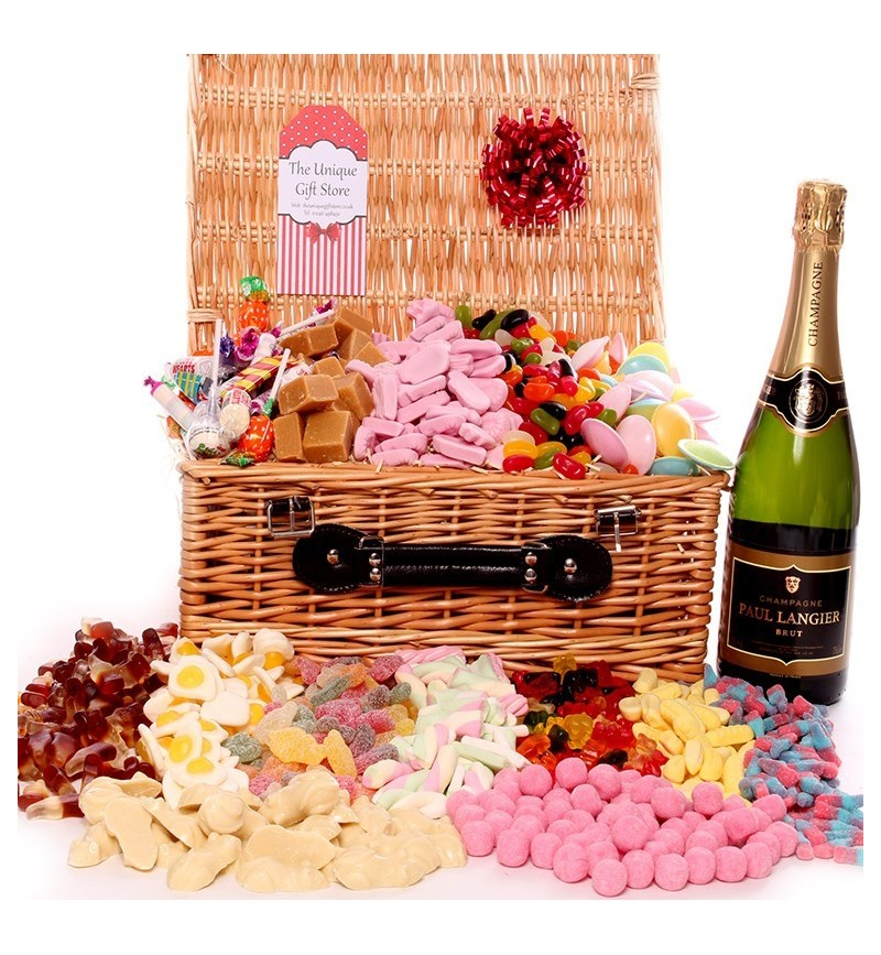Champagne and Sweets Hamper