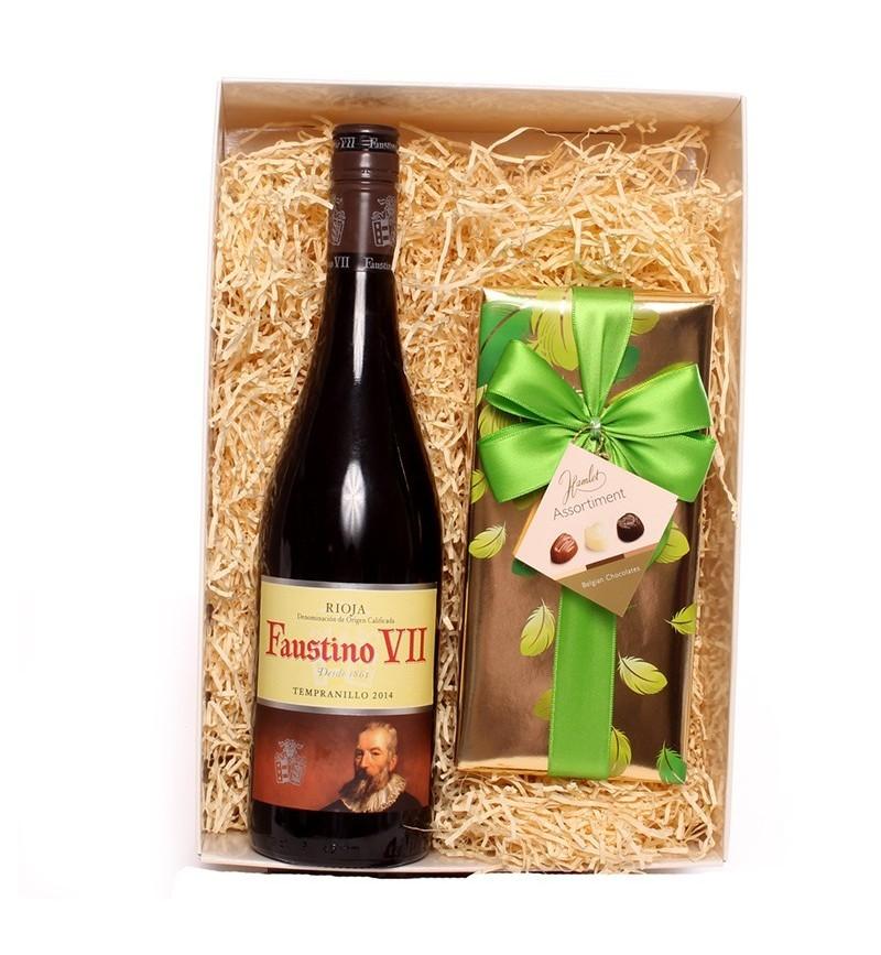 Rioja Wine and Belgian Chocolates