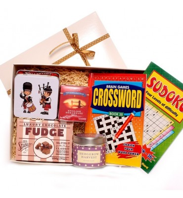 Get Well Crossword and Sudoko Gift Box Challenge.