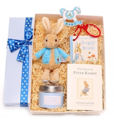 Peter Rabbit Baby Gift Box.