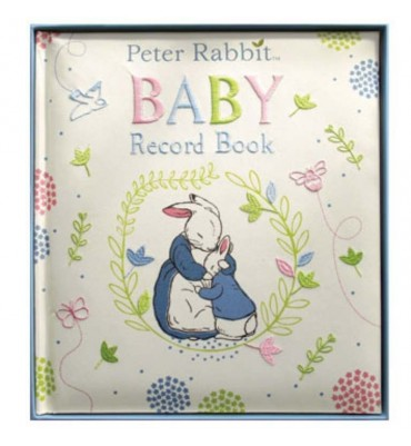 Peter Rabbit Baby Record Book.