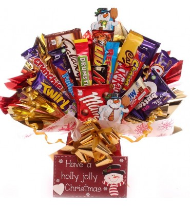Holly Jolly Christmas Chocolate Bouquet