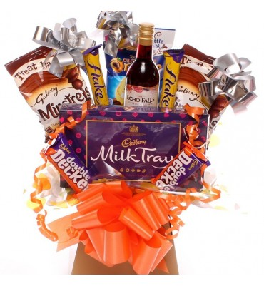 Echo Fall and Milk Tray Chocolate Bouquet.