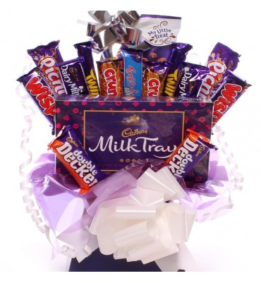 Milk Tray and Cadbury Chocolate Bouquet.