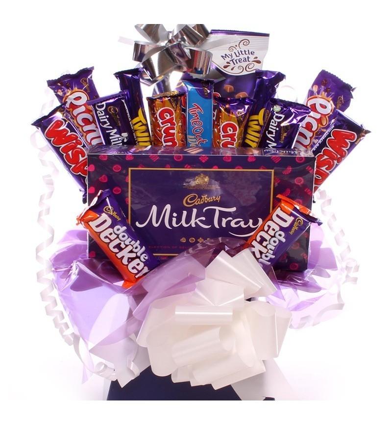 Milk Tray and Cadbury Chocolate Bouquet.