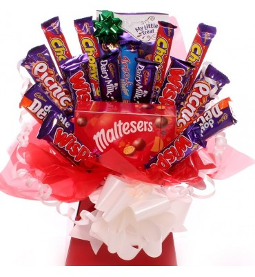 Maltesers chocolate bouquet treat.