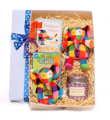 Elmer Baby Boy Gift Box.