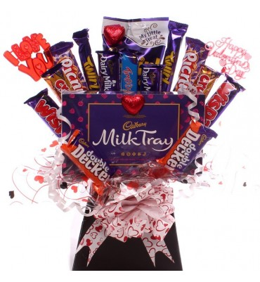 Valentine Indulgence Chocolate Bouquet.