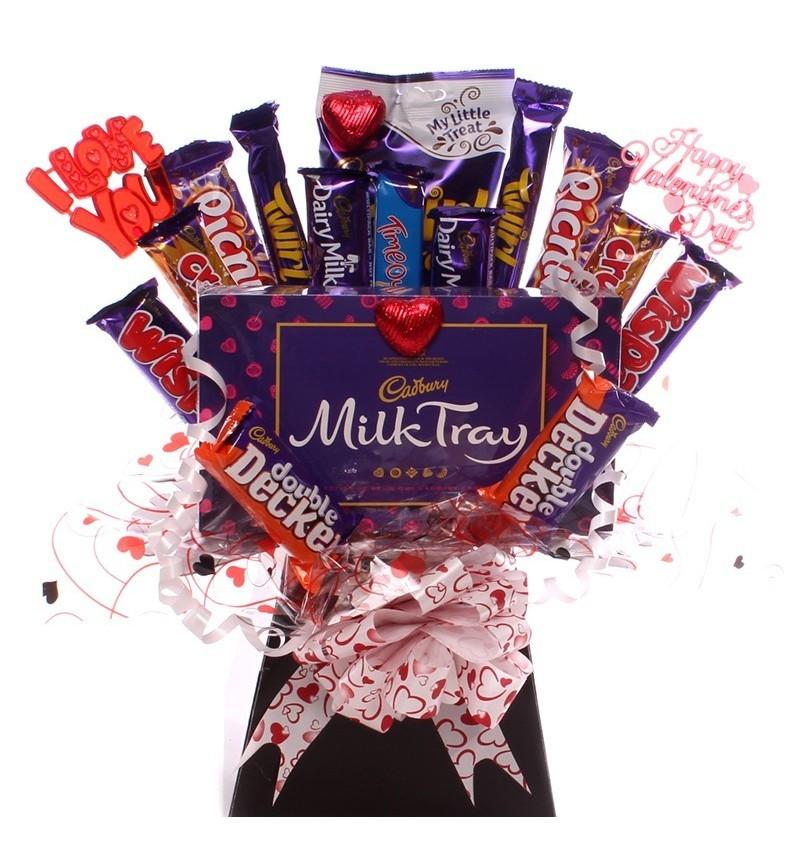 Valentine Indulgence Chocolate Bouquet.