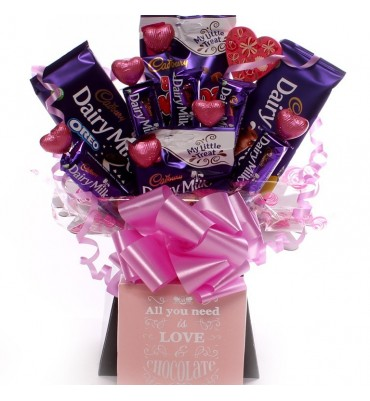 All You Need Is Love Chocolate Bouquet.