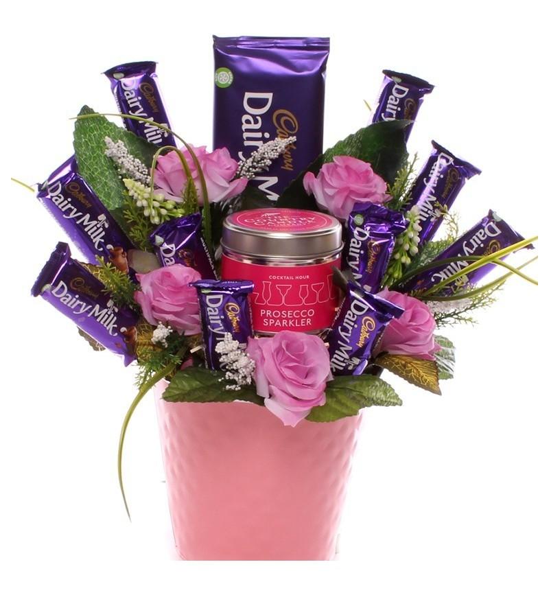 Prosecco Sparkler Chocolate Bouquet.