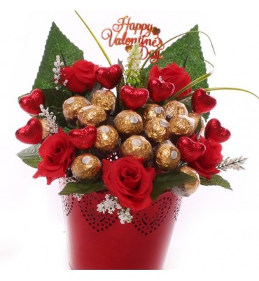 Valentines Chocolate Bouquets