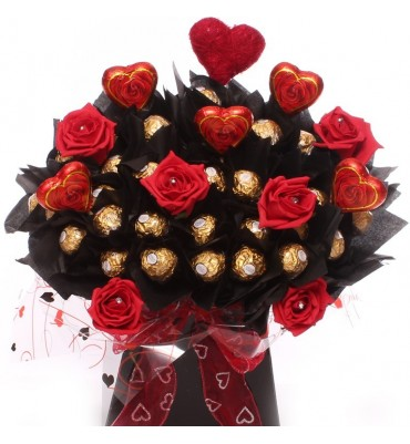 Roses Ferrero Rocher Chocolate Bouquet