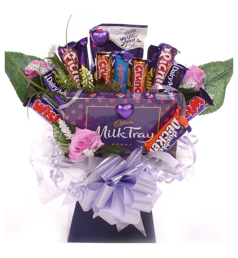 3260170d3654 Mother s Day chocolate bouquet with Cadbury Chocolate.