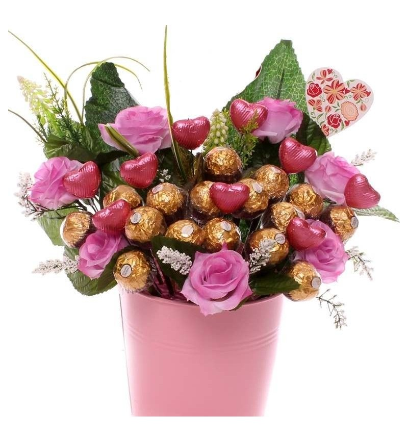 Ferrero Rocher Gift Pot For Her.