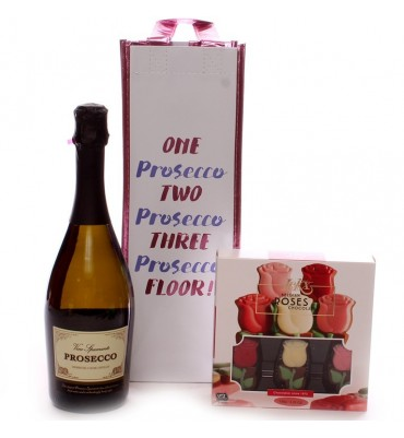 Prosecco and Luxury Chocolates Gift Set.