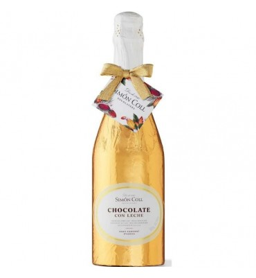 Chocolate Champagne Bottle Simon Coll 300g