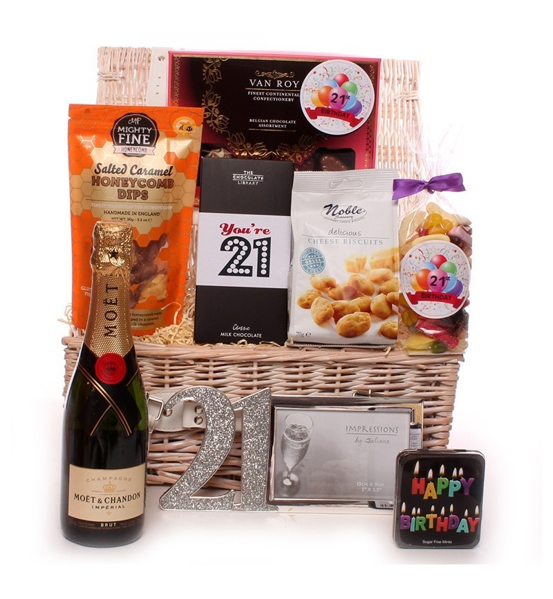 Champagne 21st Themed Birthday Hamper