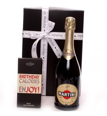 Martin Prosecco Happy Birthday Gift Set