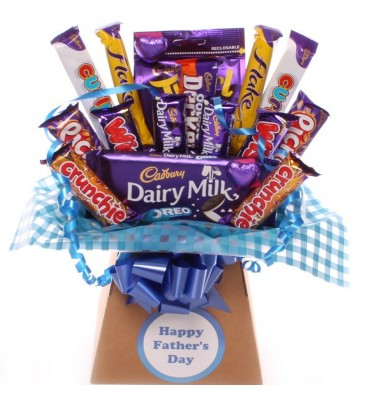 Father's Day Cadbury's Chocoate Treat Bouquet.