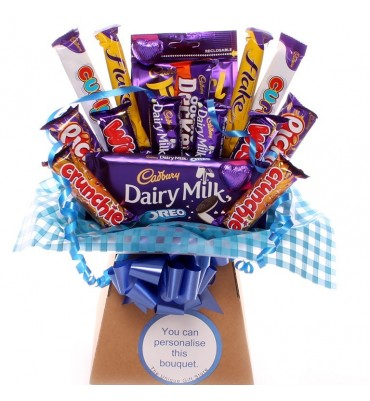 Chocolate Indulgence Bouquet For Him.