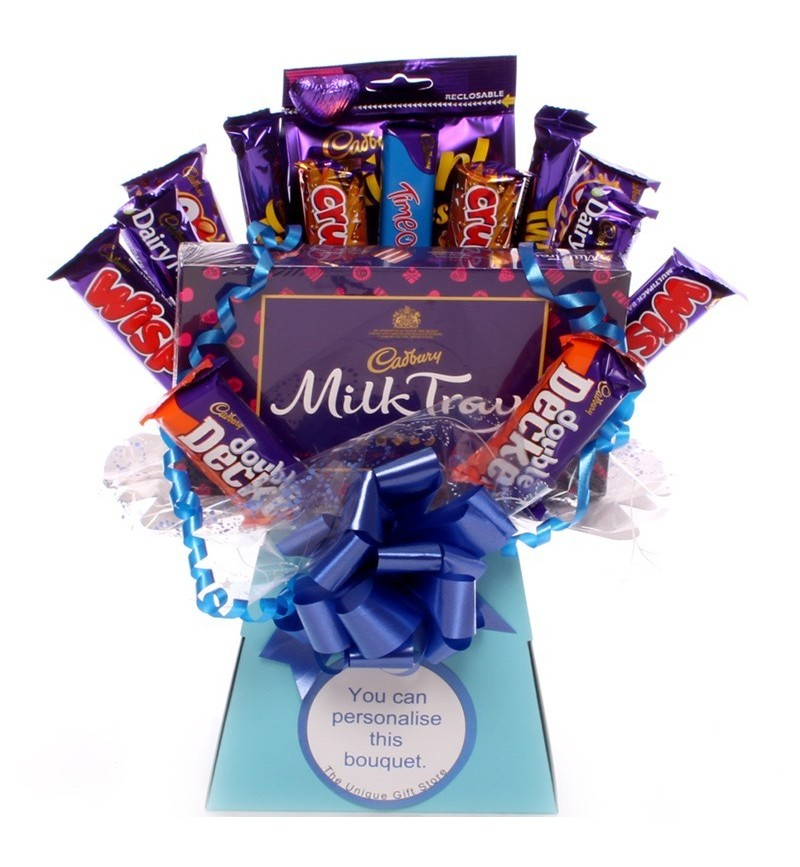 dc151dc759b5 Cadbury Special Treat Chocolate Bouquet for Him.