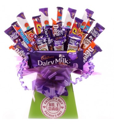 Father's Day Big Treat Chocolate Bouquet.
