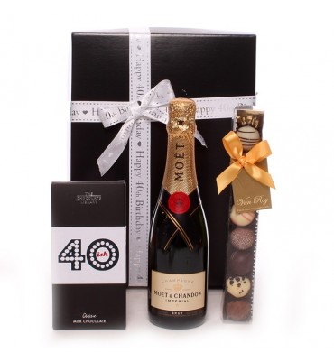 40th Birthday Moet Gift Box.