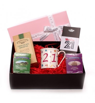 21st Birthday Afternoon Tea Hamper For Her