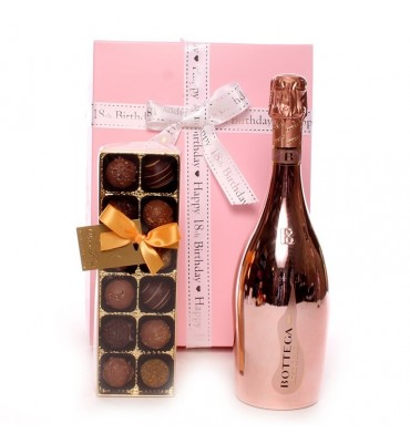 Bottega Prosecco 18th Birthday Gift.
