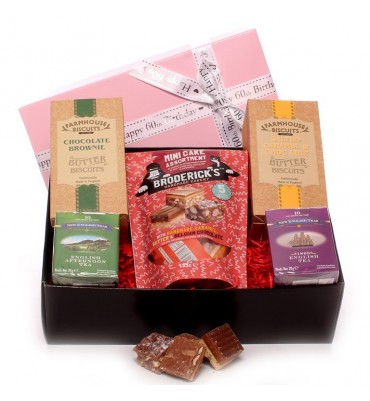 60th Tea and Biscuit Hamper.