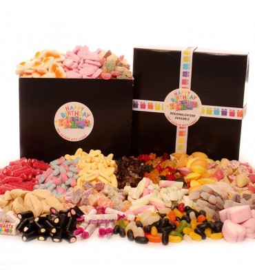 Happy Birthday Pick and Mix Sweet Hamper.