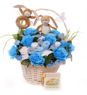 Luxury Guess How Much I Love You Baby Bouquet.