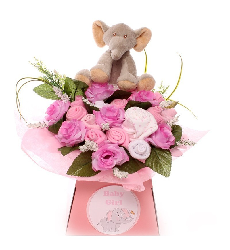 Adorable Elephant Baby Bouquet.