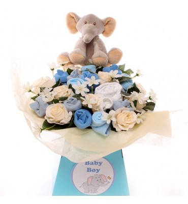 Elephant Luxury Baby Bouquet