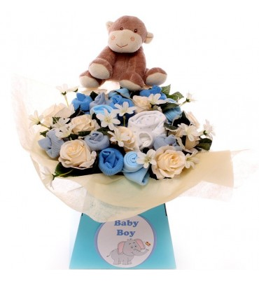Monkey Luxury Baby Bouquet.