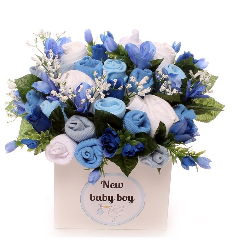 Large New Baby Bouquet - New Baby Boy.