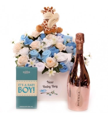 Bottega Baby Clothing Bouquet - Boy
