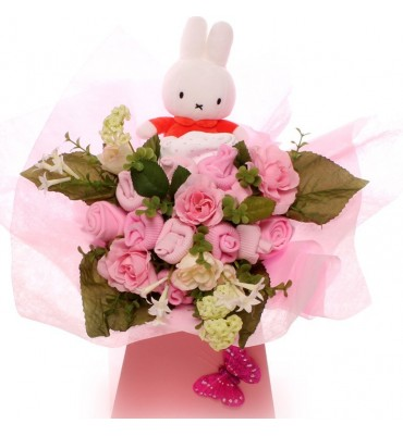 Baby Girl Clothes Bouquet with Miffy Little Star Sleeping.