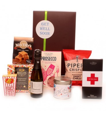 Get Well Prosecco Gift Box.