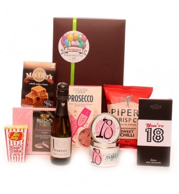 18th Birthday Prosecco Time Gift Box.