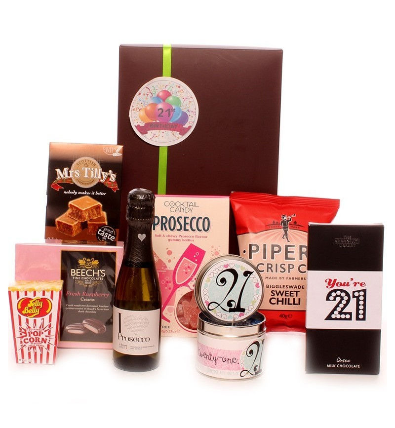 21st Birthday Prosecco Gift Package.