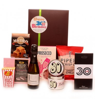 30th Birthday Prosecco Gift Package.