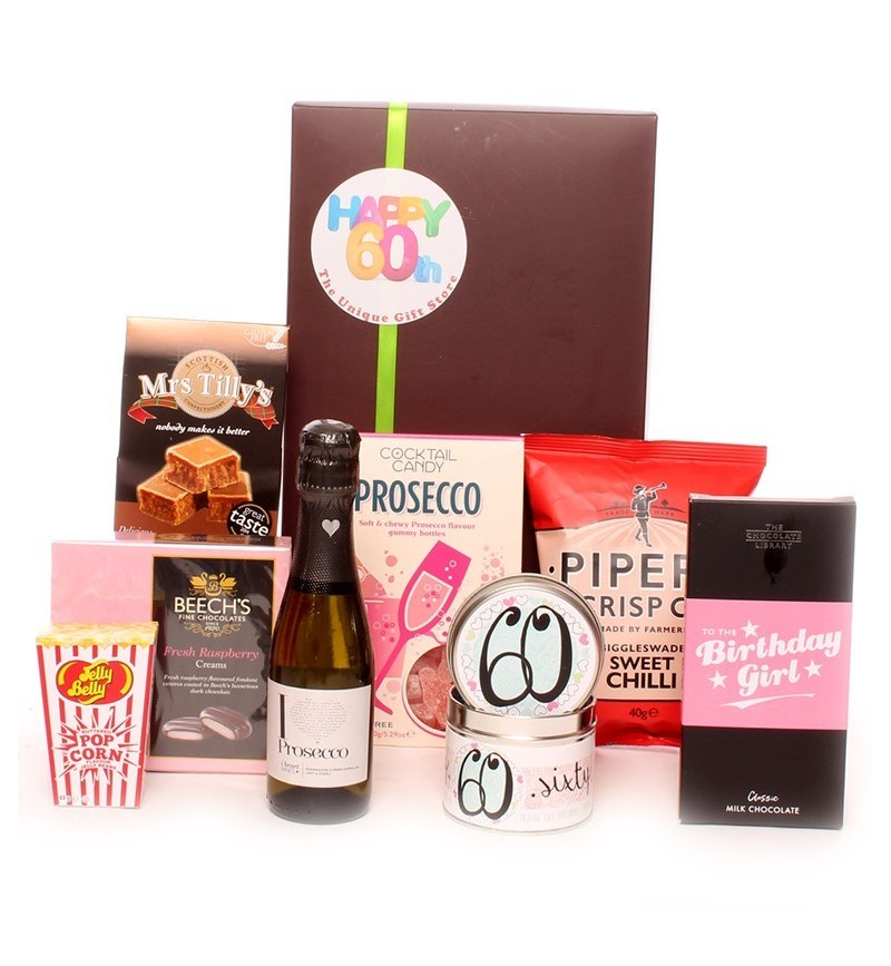 60th Birthday Prosecco Time Gift Package.