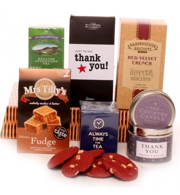 Just To Say Thank You Time For Tea Hamper.