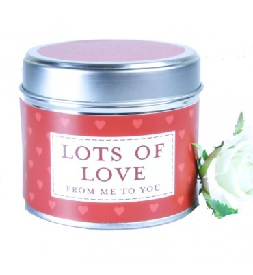 Lots of Love Scented Candle